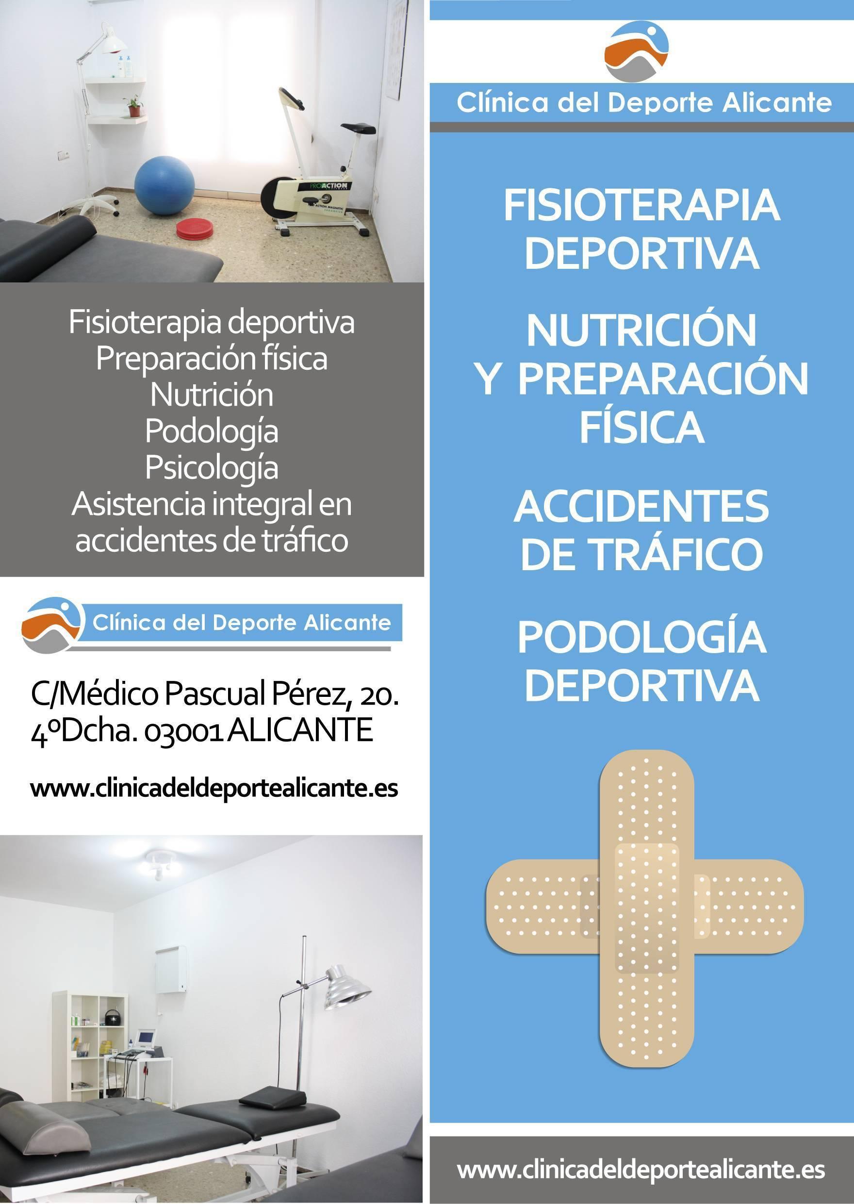 presentación clinica del deporte alicante