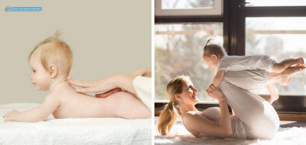 ejercicios para hacer con tu bebe