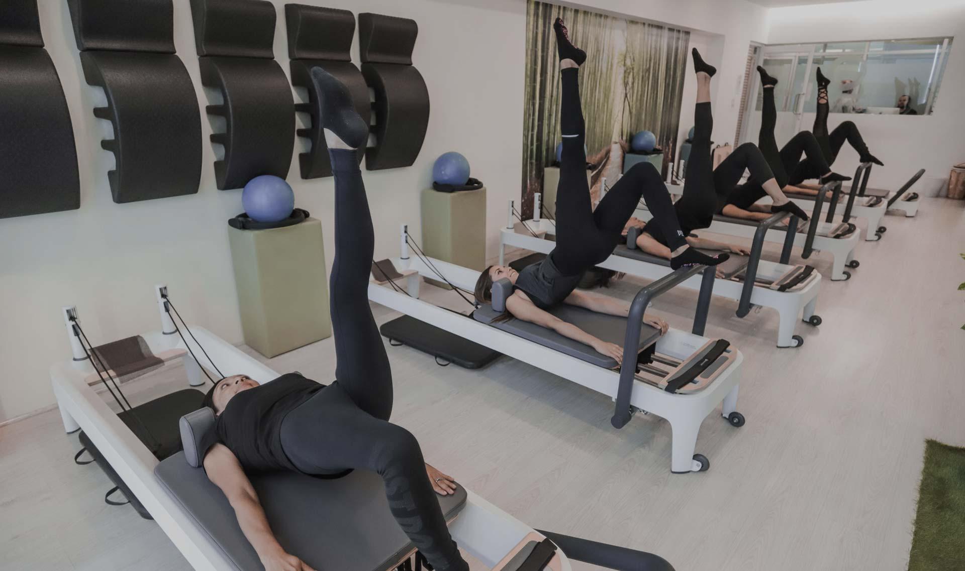 pilates maquinas en clinica del deporte alicante