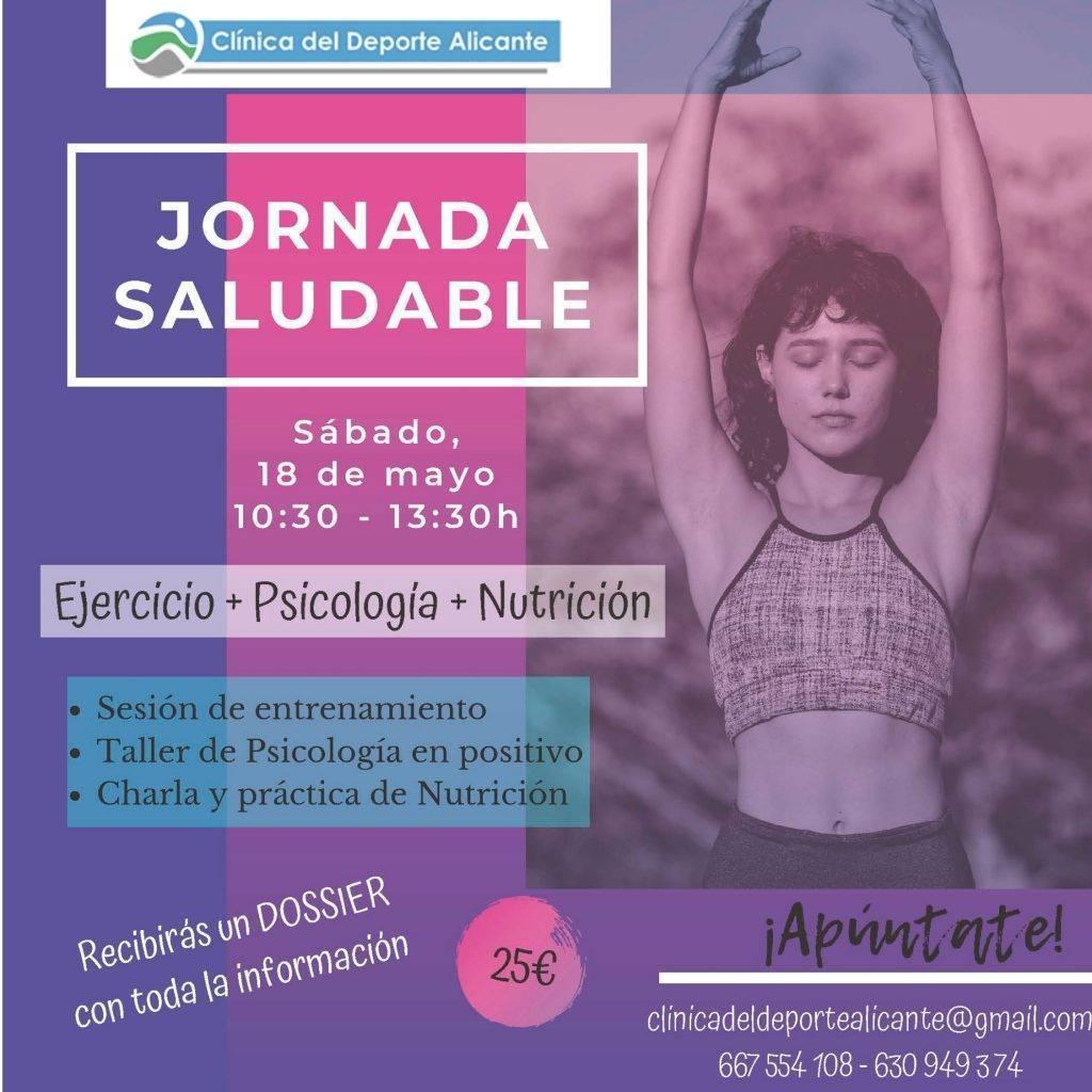 jornada saludable organizada por Clínica del deporte Alicante