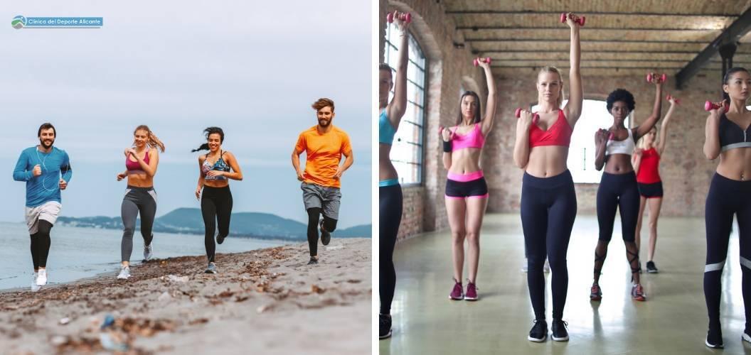 hacer ejercicio en verano te ayudará a mantener tu forma fisica todo el año