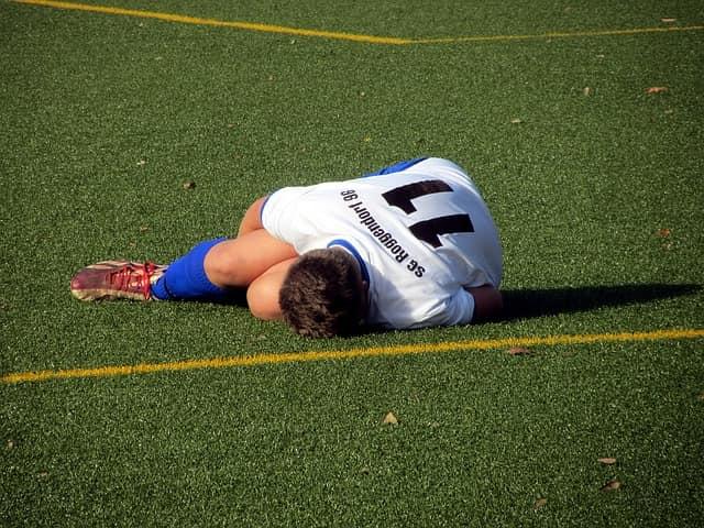 lesión deportiva en huesos sesamoideos