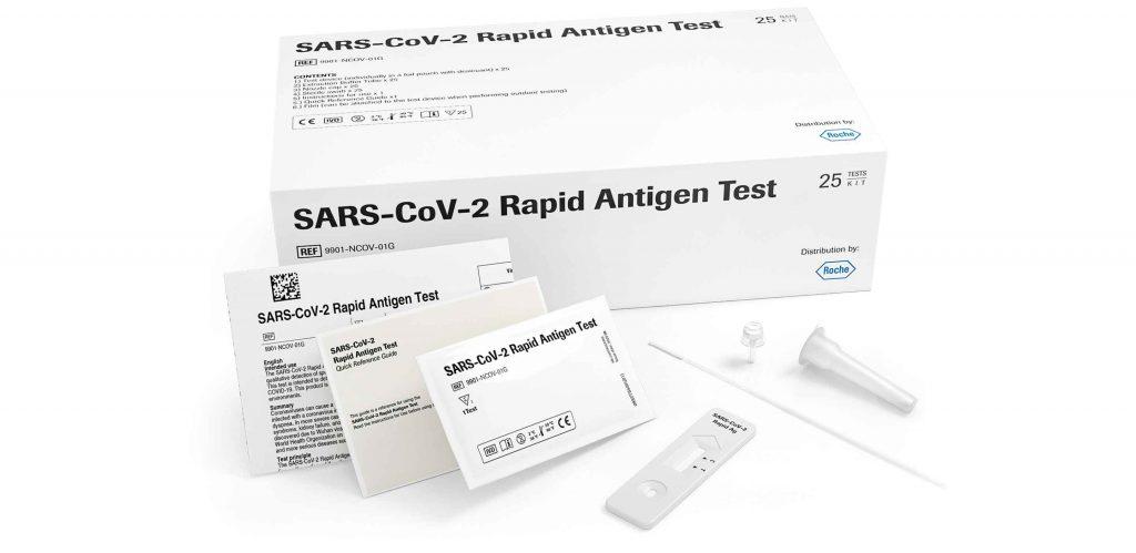 Test antigenos de laboratorios sam health alicante